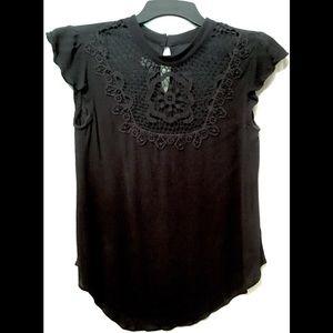 BCX Black Blouse